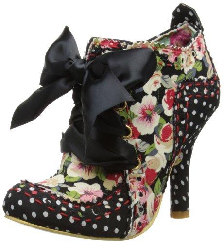 Irregular Choice Womens Dazzle Razzle Court Shoes 4136-04 Blue/Coral 4 UK, 37 EU