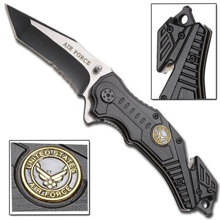 Air Force Vertigo Spring Assisted Knife