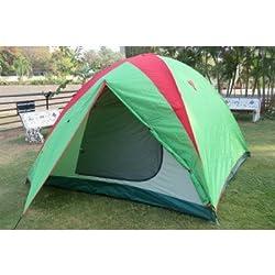 Amaze Auto Pop Up Camping Tent, 6-7 person (Multicolor)