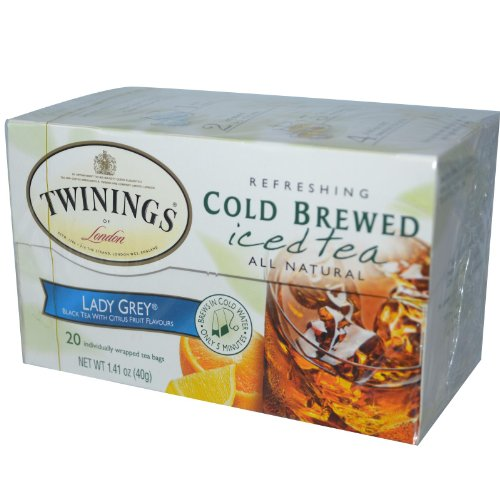 Twinings Of London - Iced Tea Cold Brewed Refreshing Citrus Twist - 20 Tea Bags