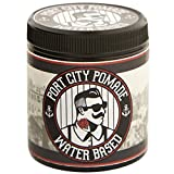 Port City Pomade Water Based Medium Hold Pomade - Perfect Gift for Him! Unorthodox All-Natural Hair Styling Pomade for Men (4 ounce)