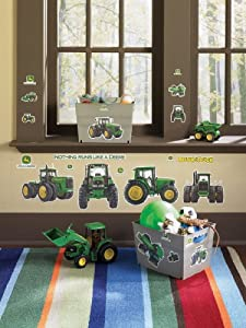 John Deere Removable Wall Decorations Child