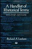 A Handlist of Rhetorical Terms