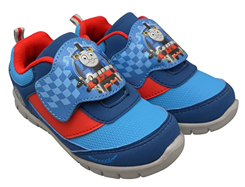 Boys Thomas and Friends 61462 Toddler Kids Running Shoes with Velcro (8) (Thomas Train Shoes compare prices)