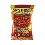 Snyder's Mustard and Onion Pretzel Pieces 2.25 OZ (63.8g)
