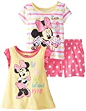 Disney Baby-Girls Infant 3 Piece Minnie Mouse It's All About Me Short Set