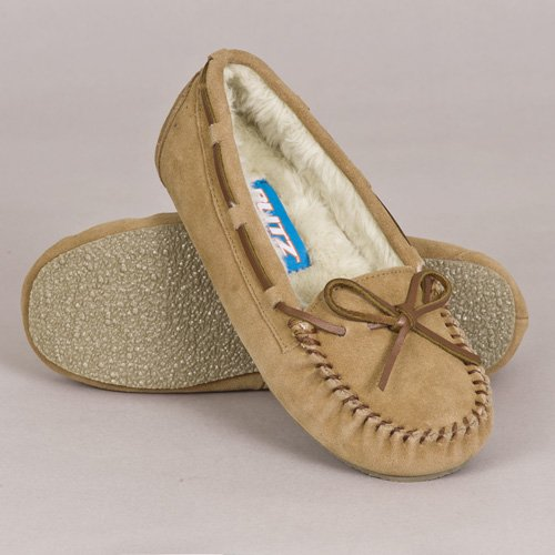 Tamarac by Slippers International Women's Molly Slipper,Chestnut,6 M US