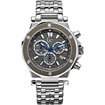 GUESS Gc Swiss Chronograph Gc-3 Stainless Steel Mens Watch G72009G5