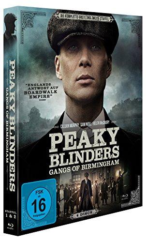 Peaky Blinders - Gangs of Birmingham - Staffel 1&2 [Blu-ray]