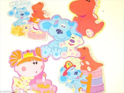 Blue's Clues Room Big Stickers (5ct)