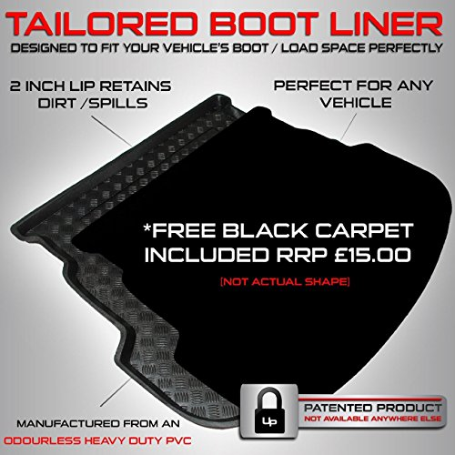 mazda-cx-5-2012-onwards-boot-liner-mat-tray-with-free-velour-carpet-insert-