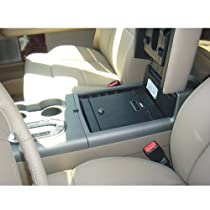 Console Vault Ford F150 Flow Through Floor 2004-2008 - 1005 - Massive 12 Gauge Cold Rolled Plate Steel, Welded Tab And Notch Seams - Superior 3 Point Locking System Resists Prying - Drill Resistant Locks - Easy 10 Minute Installation