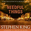 Needful Things Hörbuch von Stephen King Gesprochen von: Stephen King