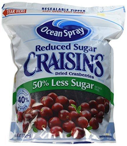 Ocean Spray Reduced Sugar Craisins Dried Cranberries 43 Ounce (Pack of 3) (Ocean Spray Dried Cranberries compare prices)