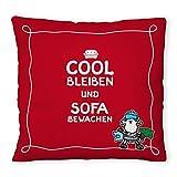 """Sheepworld 49454 Plüschkissen """"Cool bleiben"""""""