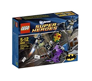 LEGO Super Heroes 6858: Catwoman Catcycle City Chase