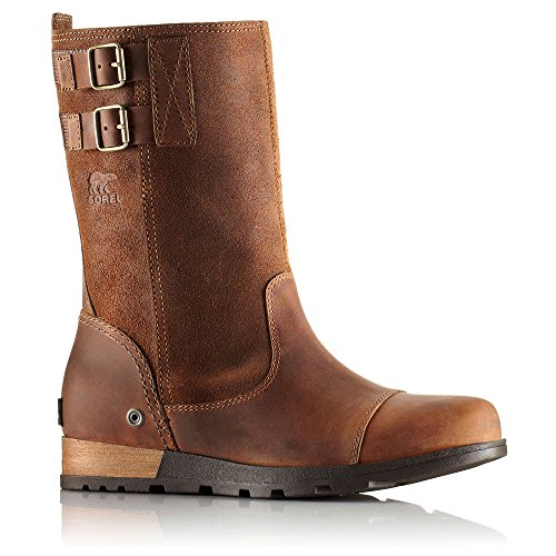 Sorel Major Pull On Boot - Women's Grizzly Bear / British Tan 7.5 (Bear Mountain Boots compare prices)