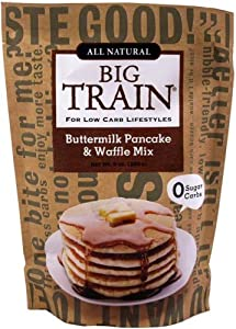 Big Train Low Carb Buttermilk Pancake & Waffle Mix 9 oz. bag