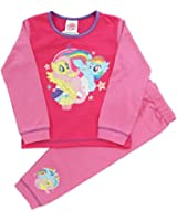 Girls My Little Pony Snuggle Fit Pyjamas Sizes 18 Months to 5 Years