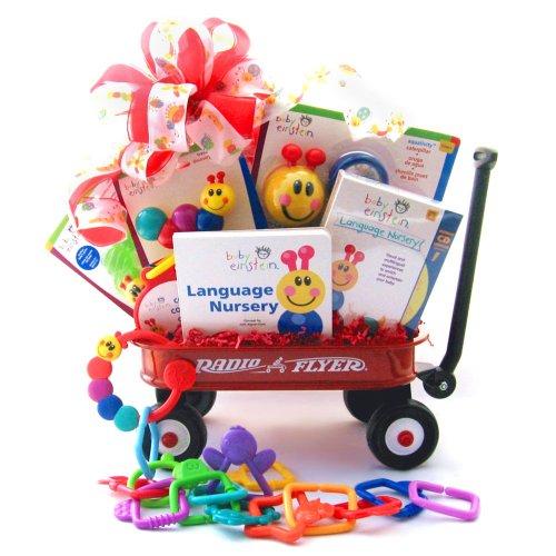 Baby Einstein Wiggle Wagon Gift Basket