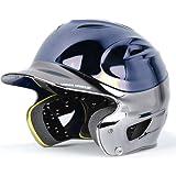 Under Armour Chrome 2-Tone Youth Baseball Batting Helmet by Under Armour