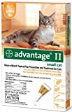 Bayer Advantage II Orange 6-Month Flea Control for Cats 5-9 lbs.