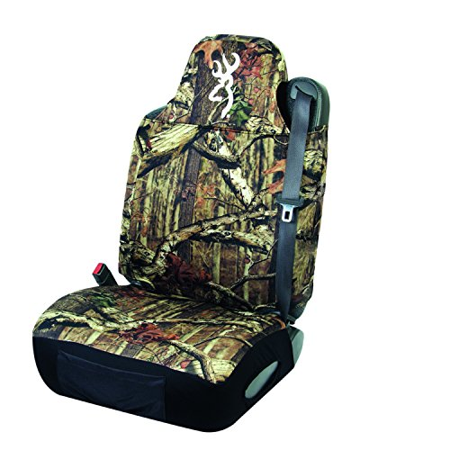 Browning Buckmark Camo Universal Design Neoprene Bucket Seat Cover (Mossy Oak Infinity Camo, Durable Neoprene Fabric, Sold Individually) (Funny Car Seat Covers compare prices)