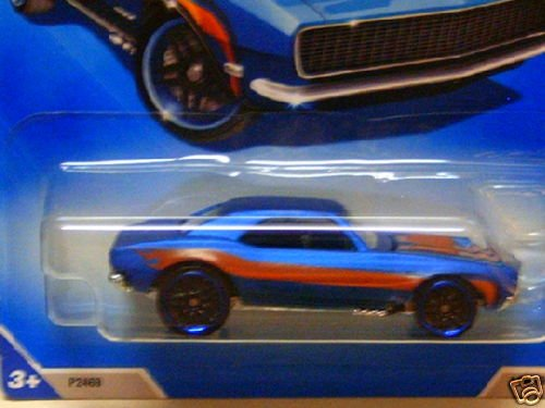 Hot Wheels 2009-149 Dream Garage '67 Camaro BLUE 1:64 Scale - 1