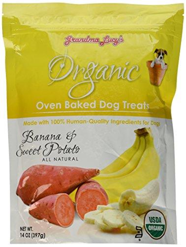 Artikelbild: GRANDMA LUCY'S 844192 Organic Baked Banana Sweet Potato Treat for Pets, 14-Ounce by Phillips Feed & Pet Supply