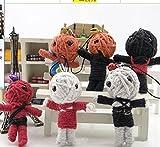 10 Pcs Thailand Wool Voodoo Doll Bag Pendant Phone Pendant Keychain
