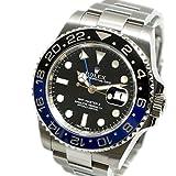 [ロレックス]ROLEX GMTマスター2 青黒ベゼル Ref. 116710BLNR ランダム番 オートマ/自動巻き ブラック/黒文字盤 メンズ 中古