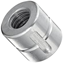 THK Lead Screw Nut Model DC16, 28mm Outer Diameter x 26mm Length, Load Capacity: 1102 Pound-Force  (Pack of 5)