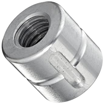 THK Lead Screw Nut Model DC16, 28mm Outer Diameter x 26mm Length, Load Capacity: 1102 Pound-Force