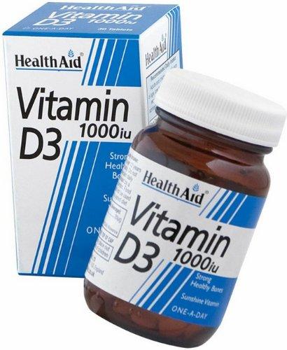 HealthAid Vitamin D 1000iu - 30 Tablets