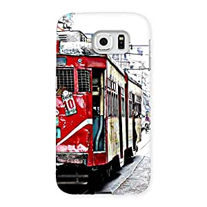Cute Calcutta Multicolor Back Case Cover for Samsung Galaxy S6