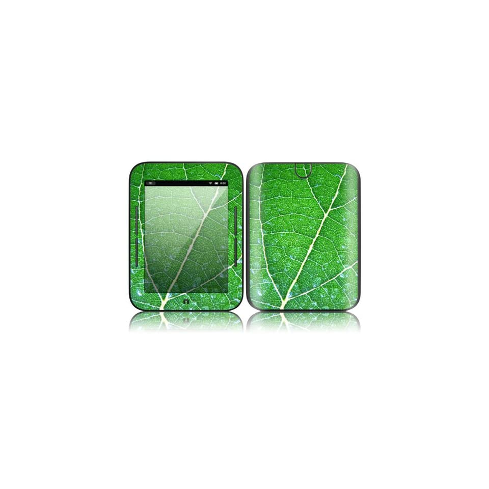 Green Leaf Texture Design Decorative Skin Cover Decal Sticker for  NOOK Simple Touch 6 inch Touchscreen eBook Reader