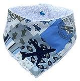 Tormenta de colores-bebé niño de mochilas de toalla Cuello Aviones en azul J DMC-FS15de Sabby de 020-2