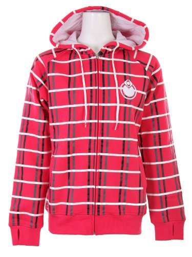 Nomis OG Plaid Hoodie Rah Red Women's Sz L
