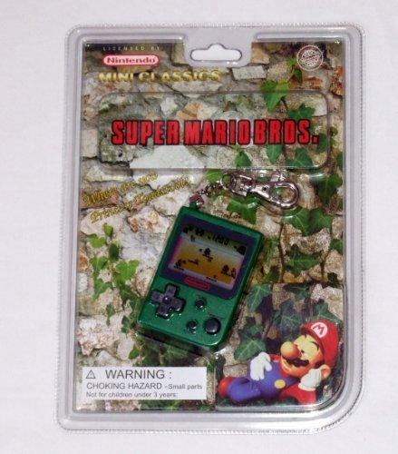 Super Mario Brothers Mini Classics Video Game Keychain