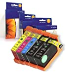 5 Compatible Replacement Ink Cartridg...