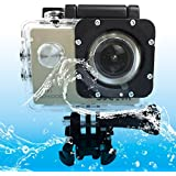 Sports Cameras SJCAM SJ4000 WiFi Ultra HD 2K 1.5 Inch LCD Sports Camcorder With Waterproof Case 170 Degrees Wide...