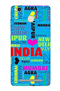 ZAPCASE Printed Back Cover for XIAOMI REDMI 3S PRIME