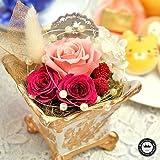 ロイヤルガストロ 魔法のお花プリザーブドフラワーと焼き菓子、動物っこセット38・ギフト包装