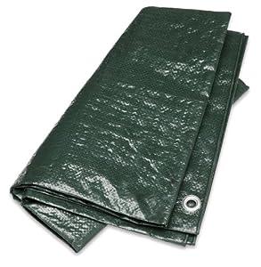 Gelert Ripstop Groundsheet - Dark Green, 13X10ft