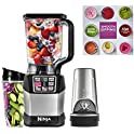 Ninja Auto-IQ Nutri 1200W 72oz Blender Bundle