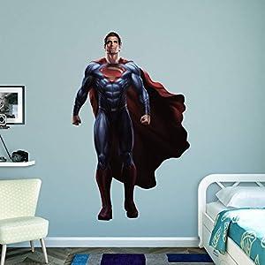 Fathead Batman vs. Superman - Superman Wall Decal at Gotham City Store