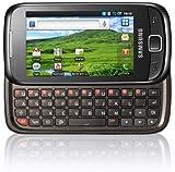 """Samsung GT-I5510 - Smartphone libre Android (pantalla t�ctil de 3,2"""" 240 x 400, 160 MB de capacidad, teclado QWERTZ, S.O. Android 2.2) color negro [importado de Alemania]"""