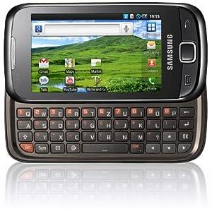 """Samsung GT-I5510 - Smartphone libre Android (pantalla táctil de 3,2"""" 240 x 400, 160 MB de capacidad, teclado QWERTZ, S.O. Android 2.2) color negro [importado de Alemania]"""