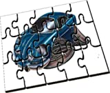 Personalised Koolart Renault Alpine Car Wooden A5 Jigsaw