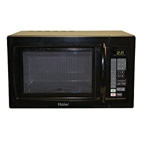 Haier 1000-Watt Microwave - Black (1.1 cu. ft.)